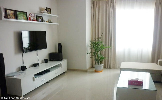 Bright 2 Bedroom Apartment For Rent In Tower B Of Golden Palace Nam Tu Liem Hanoi