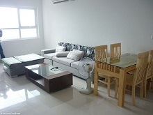 2 bedroom apartment with modern design for rent in Golden Palace, Nam Tu Liem, Hanoi.