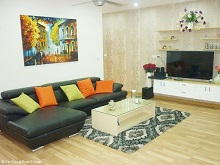Attractive 2 bedroom apartment for rent in Golden Palace, Nam Tu Liem, Hanoi